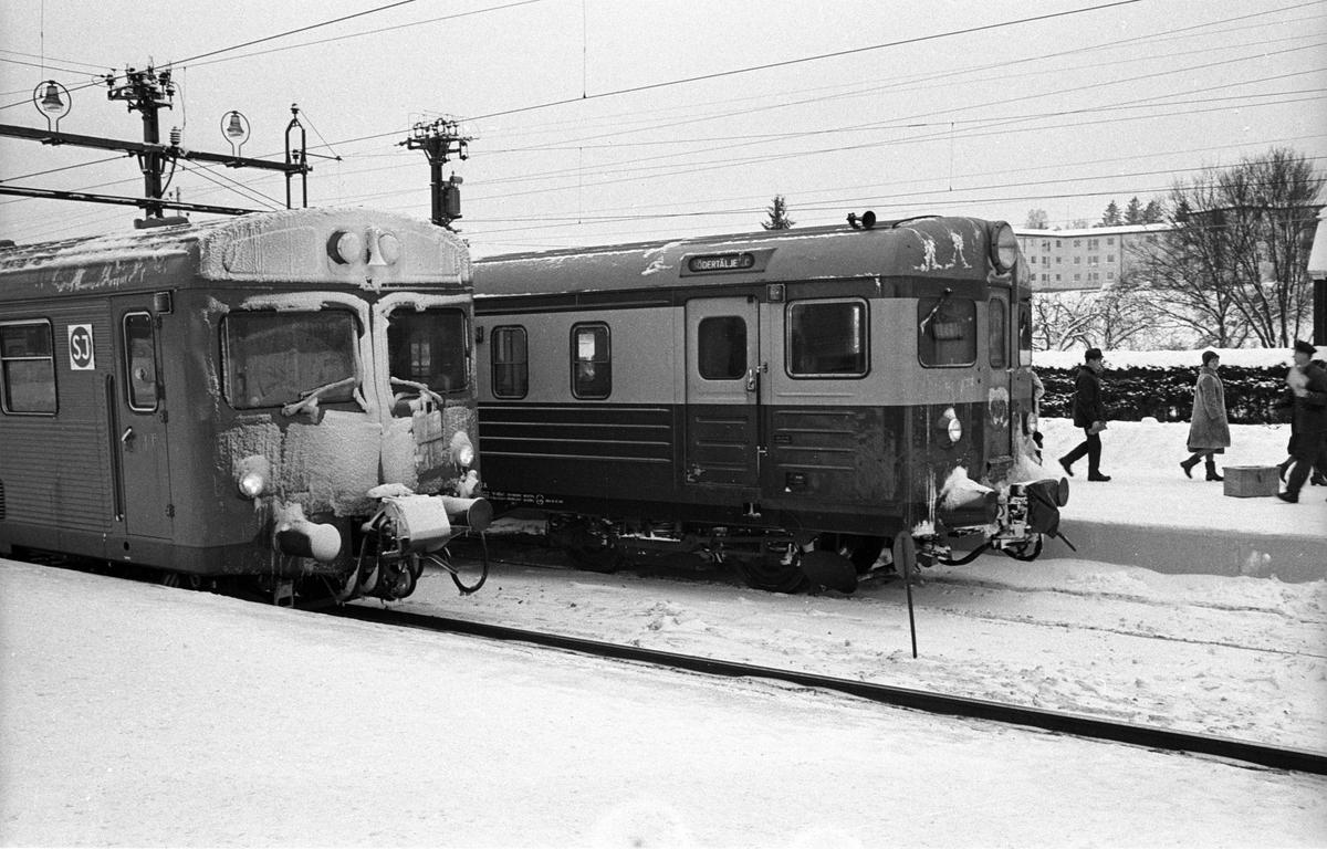 Stockholm Lokaltrafik, SL, Någonstans på sträckan Rotebro - Märsta.
