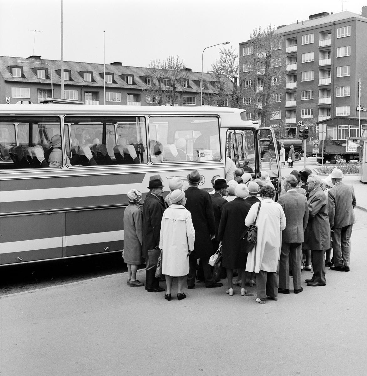 Resande med utflyktståg från Värmland.