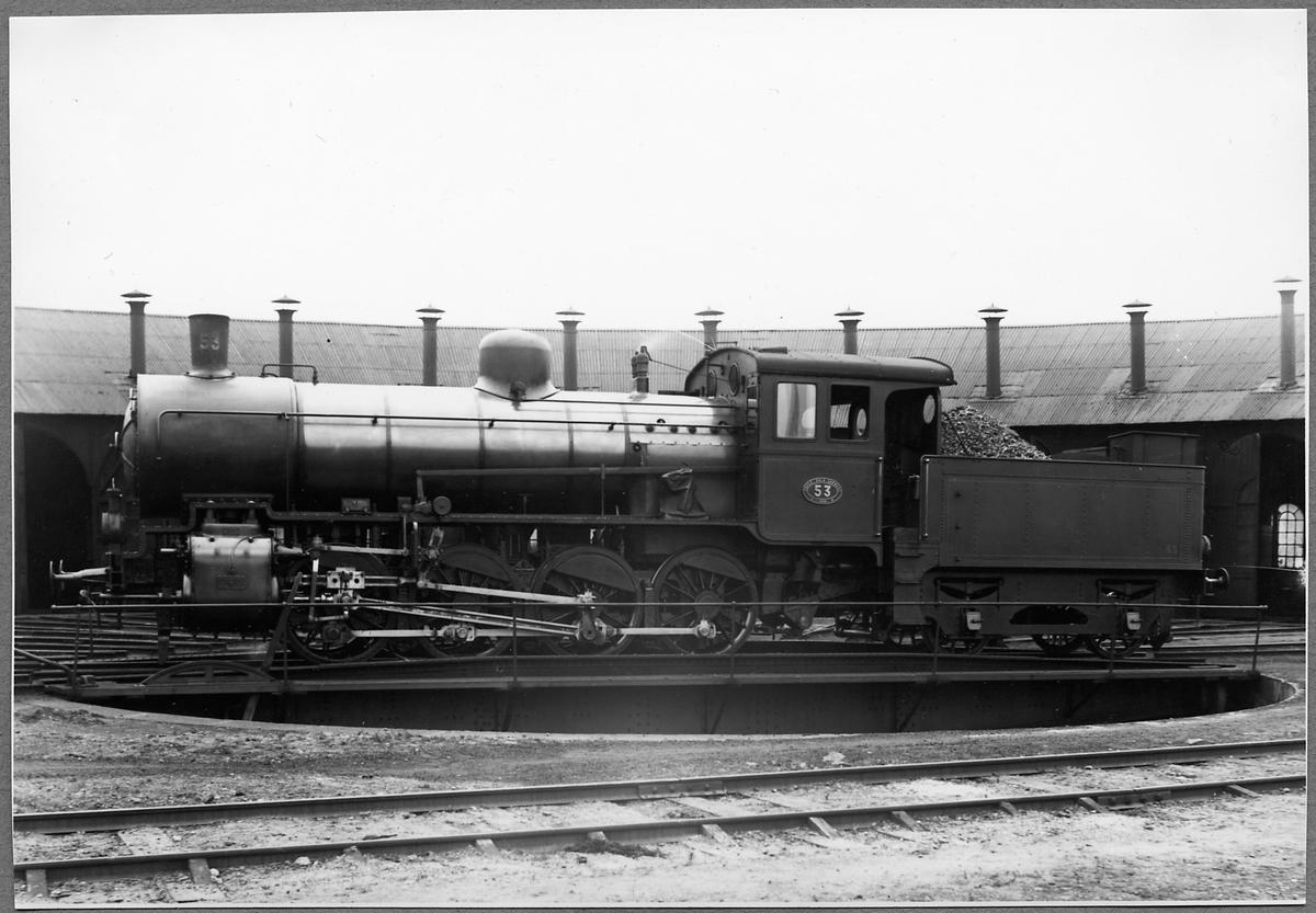 Gävle - Dala Järnvägar, GDJ N 53.