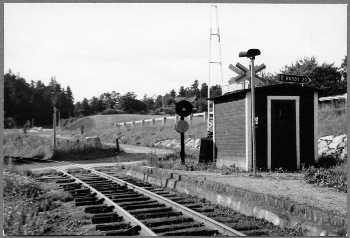 Hållplatsen i Klevbrinken.