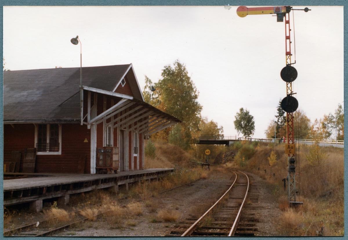 Åseda stationsområde.