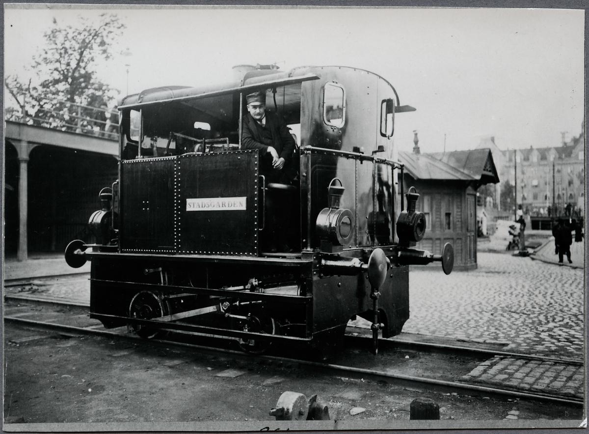 """Statens Järnvägar, SJ N 173 """"Stadsgården""""."""