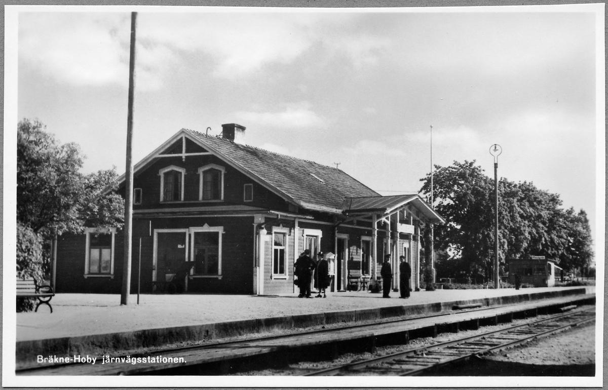 Bräkne-Hoby Järnvägsstation.