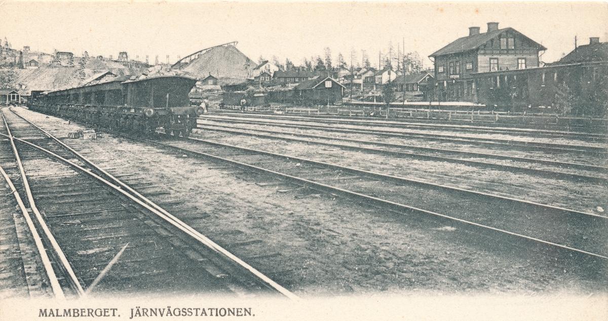 Statens Järnvägar, SJ,  Stationen öppnad 1899.