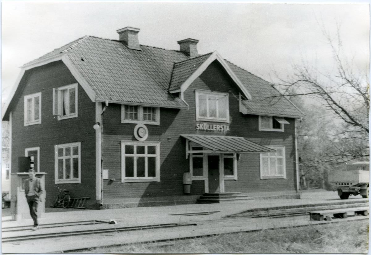 Sköllersta Station 1945 - 1962