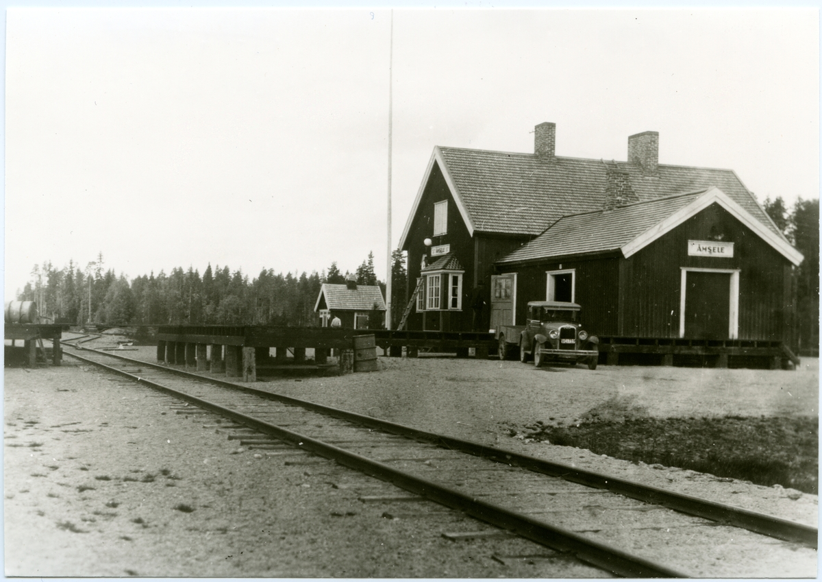 Åmsele station.