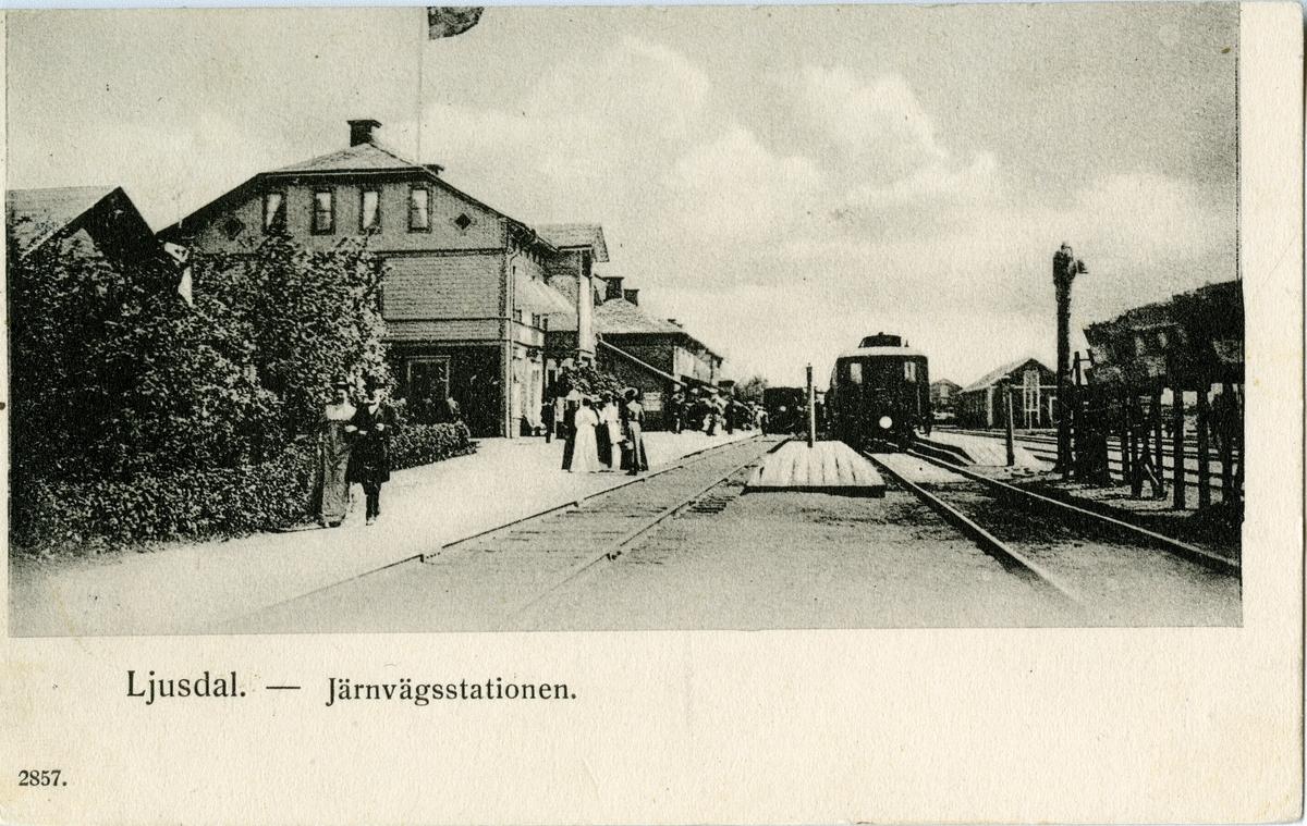 Järnvägsstationen i Ljusdal