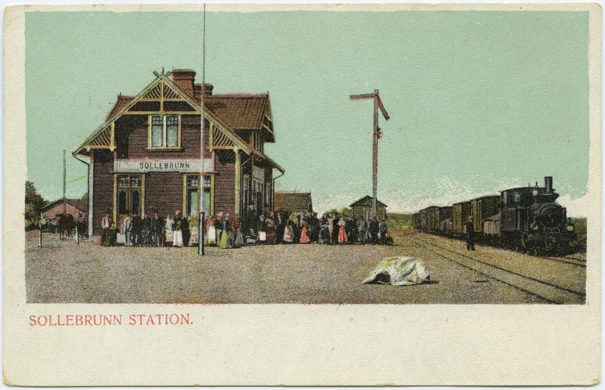 Sollebrunn station