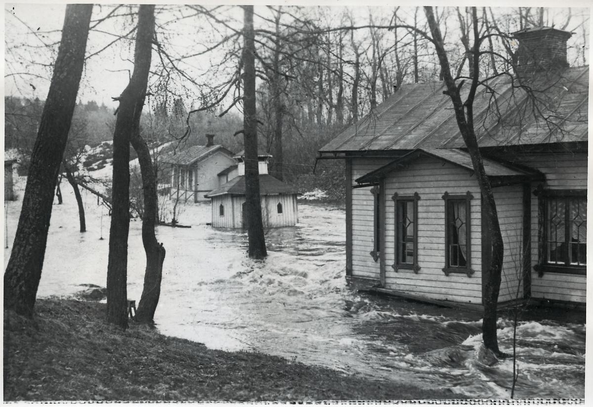 Översvämningen i Sidsjöbäcken.