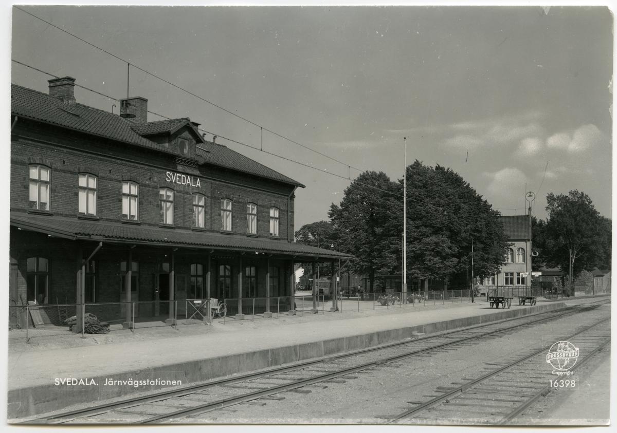 Vy över Svedala Station.