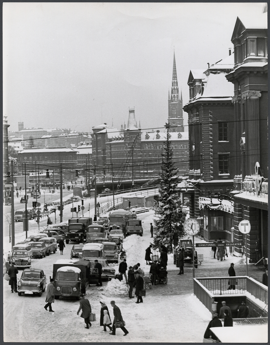 Stockholm Centralstation. Södra sidan