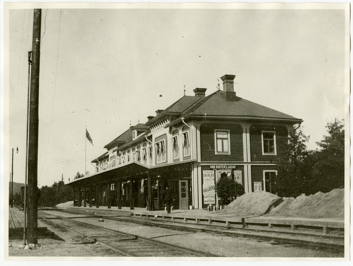 Östersund station.