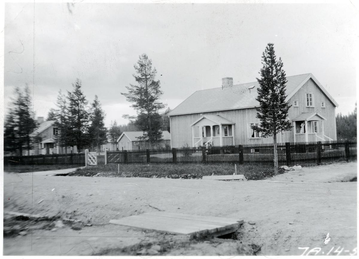Bostadshus i Arvidsjaur.