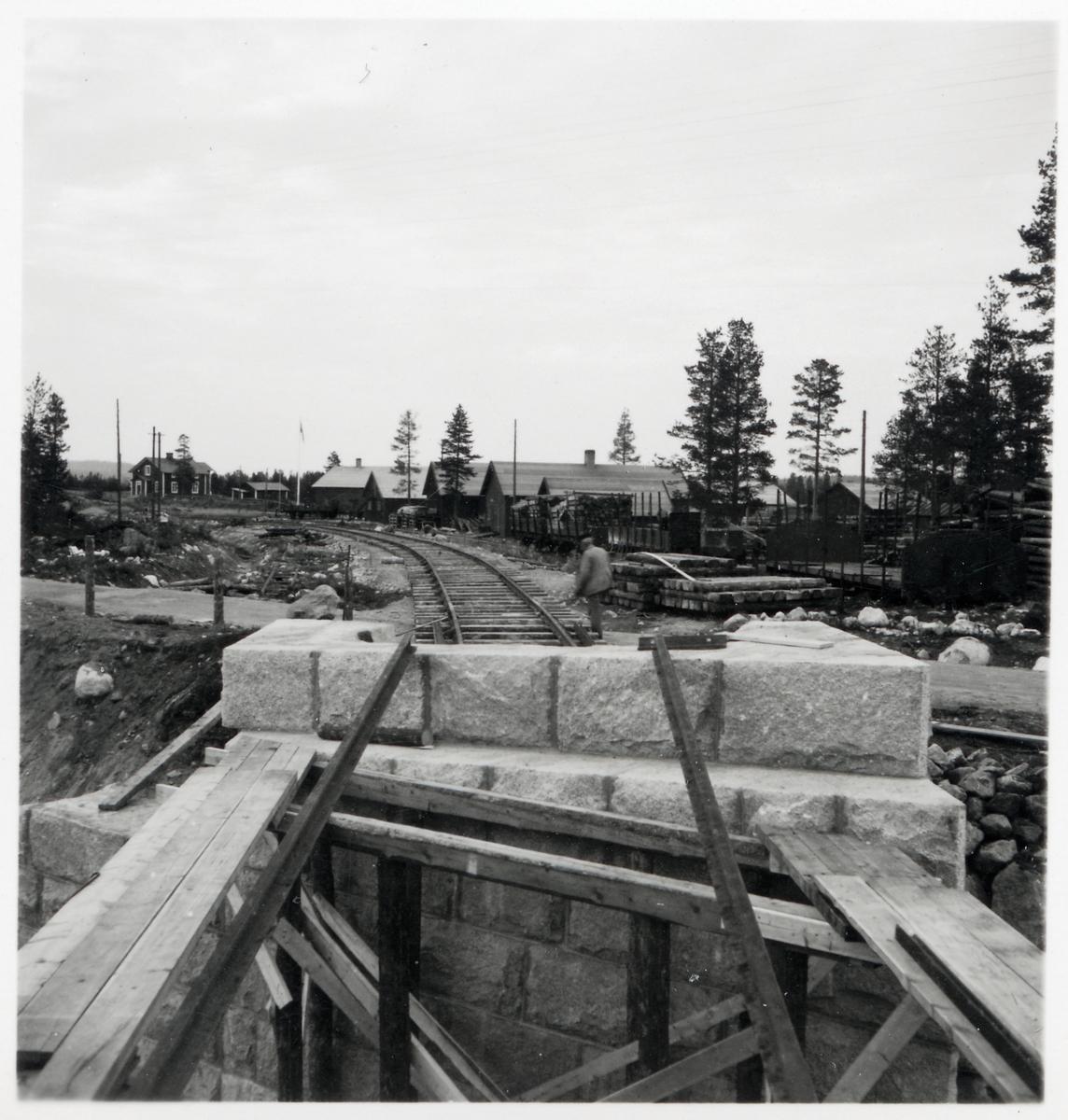 Vägportsbygget i Jokkmokk.