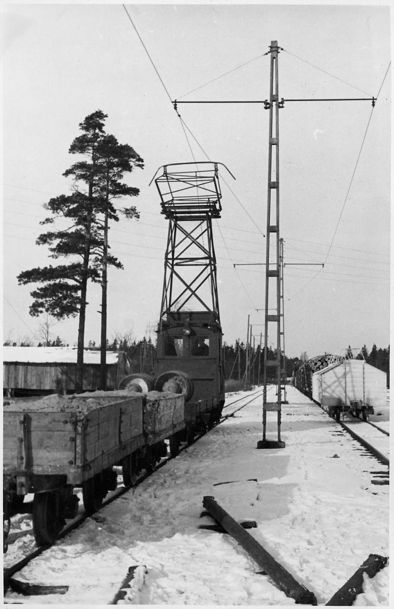 Skoghall station.