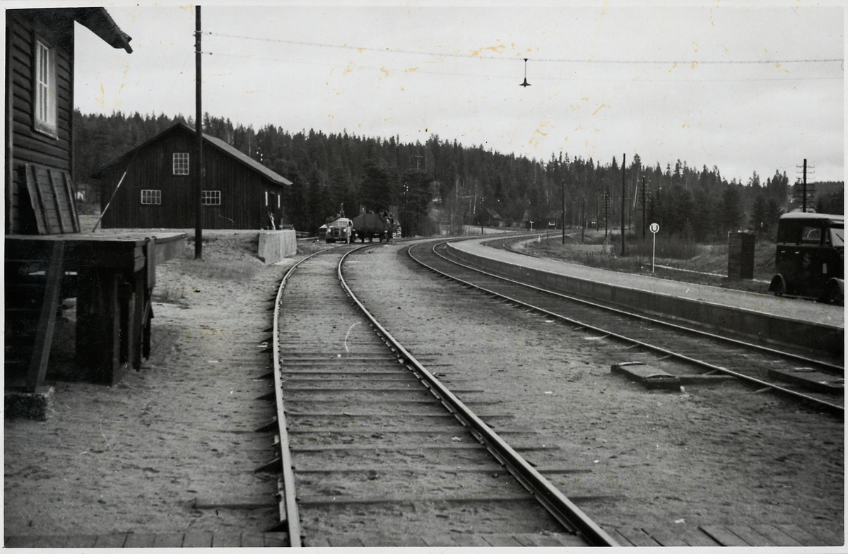 Norrfors station.