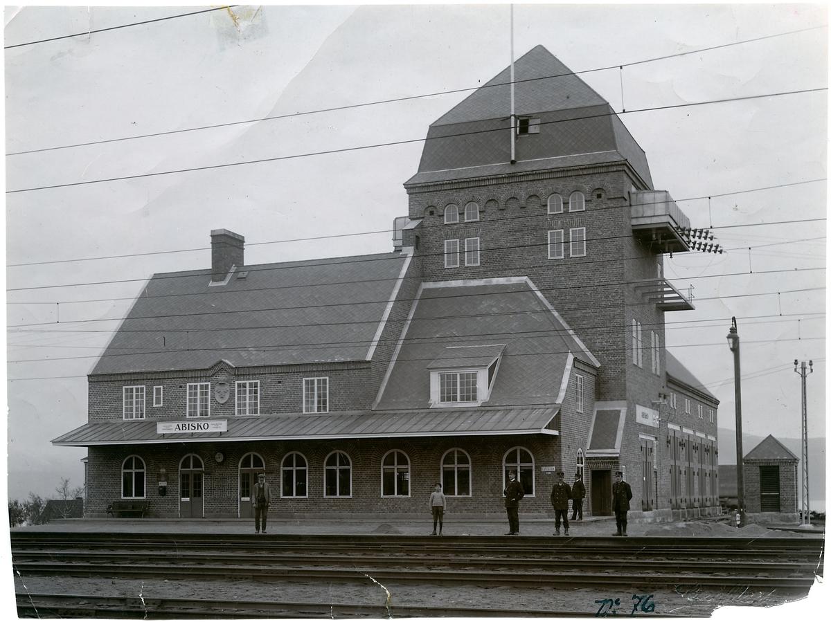 Abisko station.