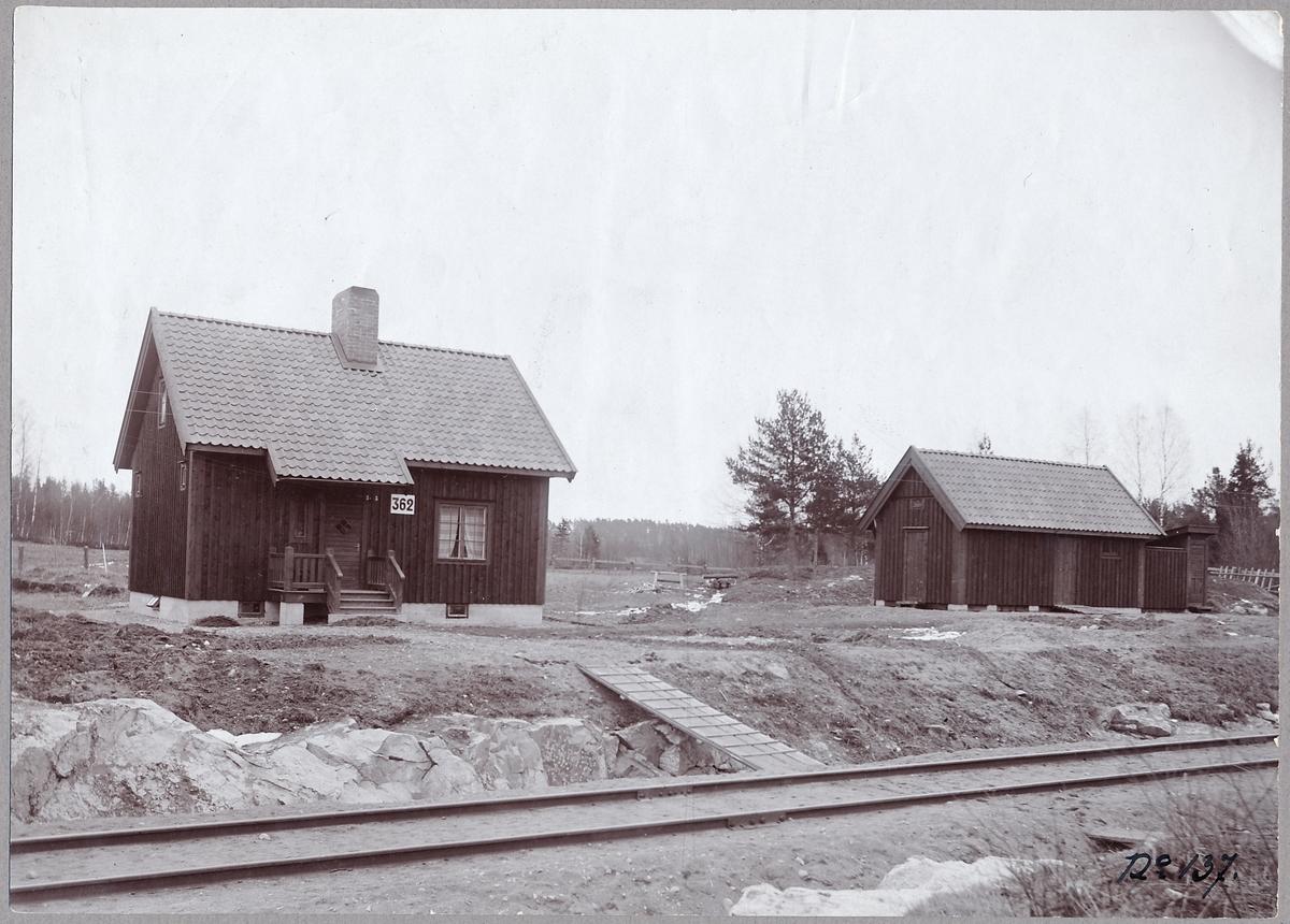 Banvaktsstuga nr: 362 på linjen mellan Järna och Hölö.