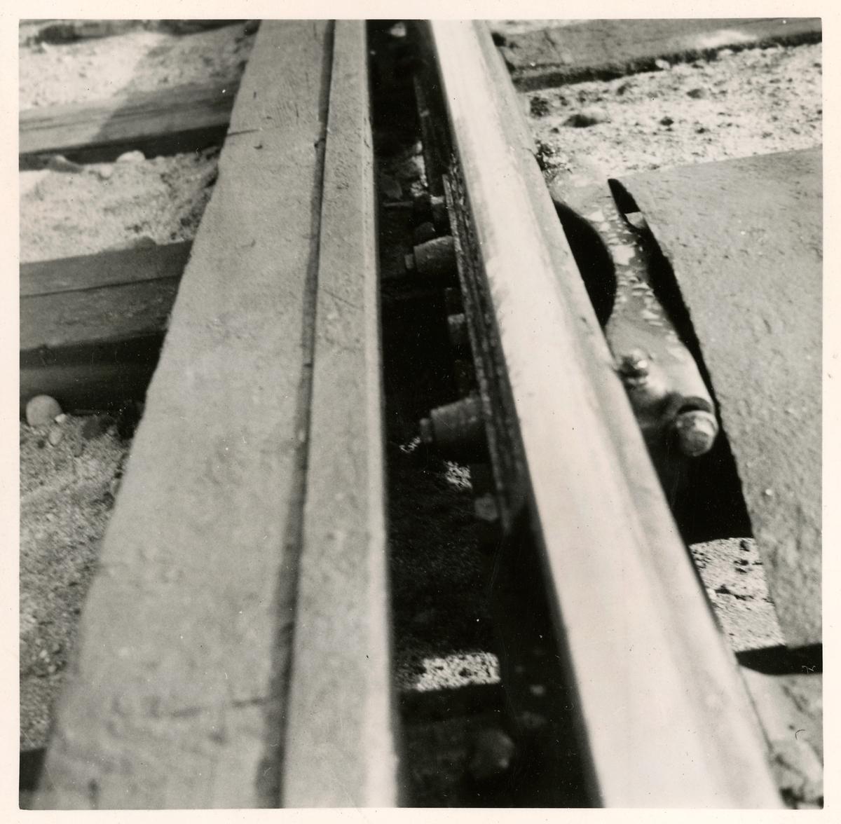 Exempel på välskött flänssmörjapparat.