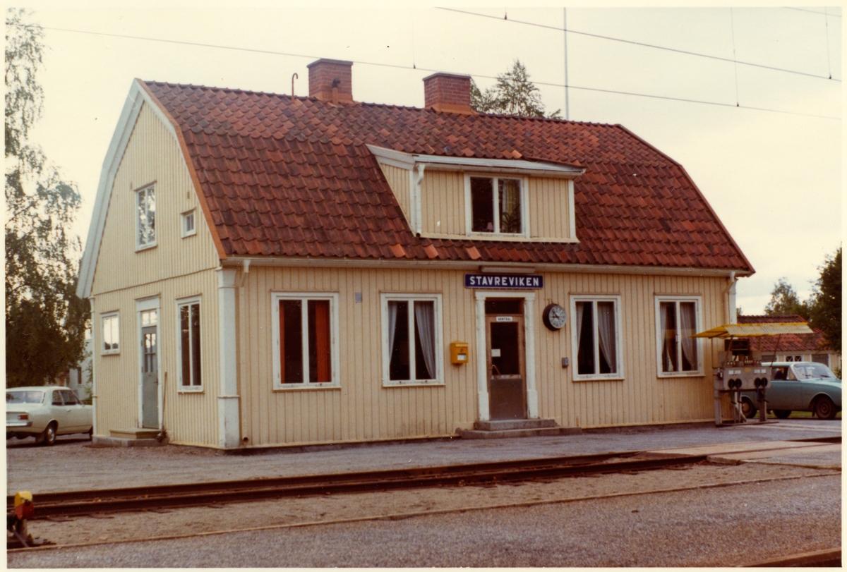 Stavreviken station.
