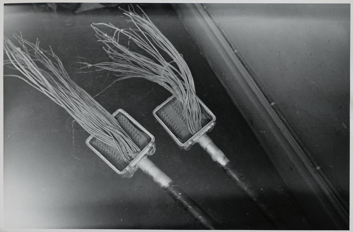 Montering av kopplingsplintar.