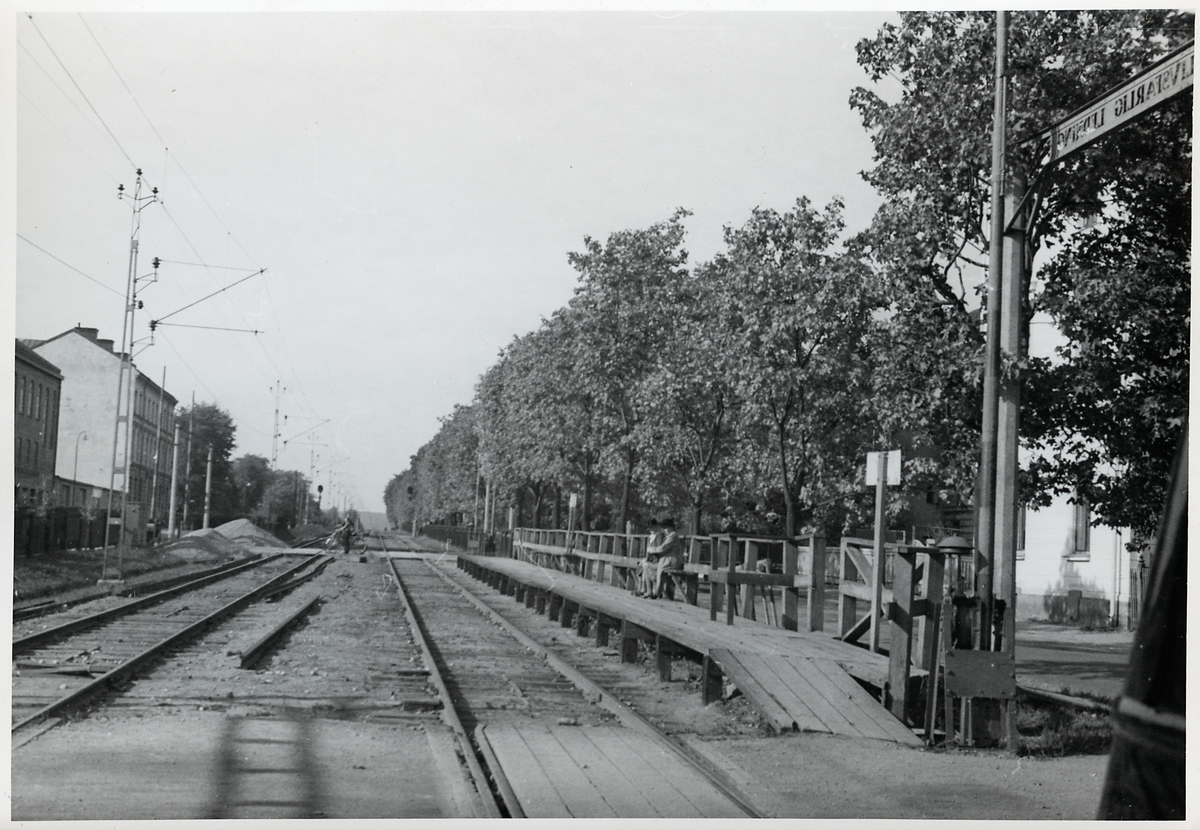 Hållplats Sundsvall Esplanaden.