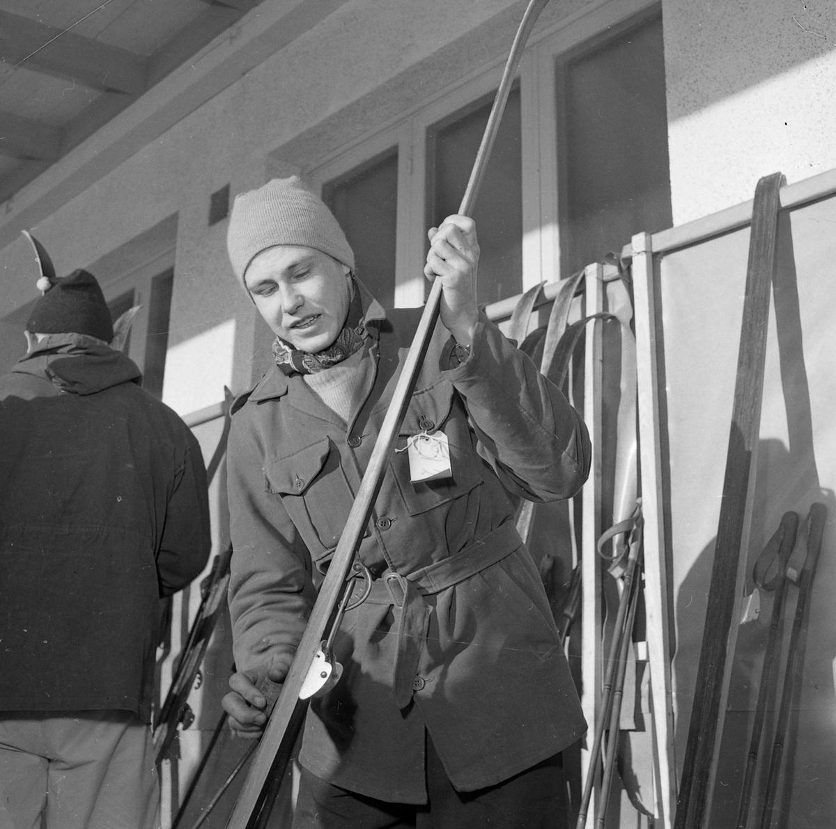Skiløpere som deltok i NM på ski i Trondheim