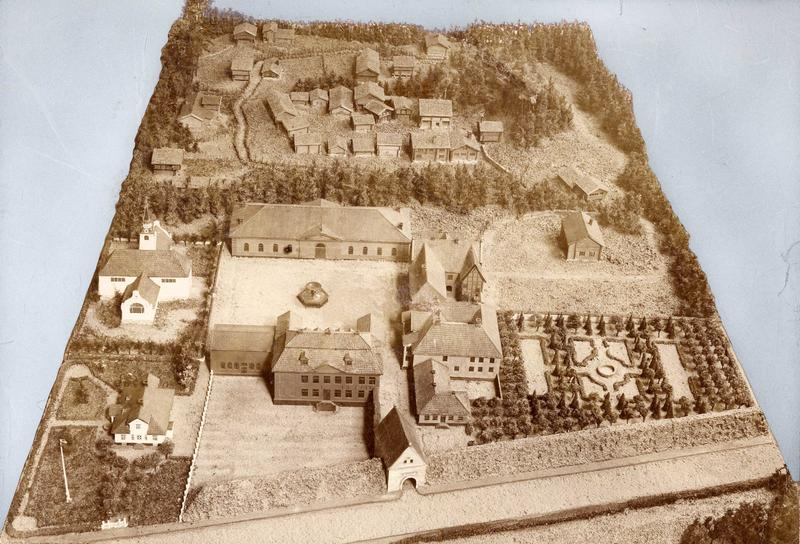 Modell utstilt på Verdensutstillingen i Paris i 1900