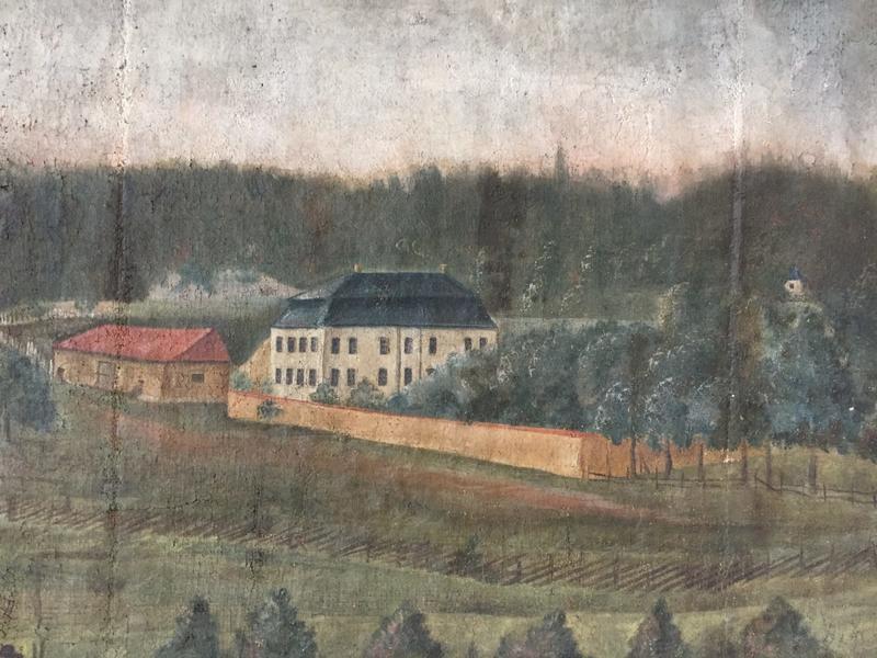 Torderød gård situasjon ca slutten av 1700-tallet (Foto/Photo)