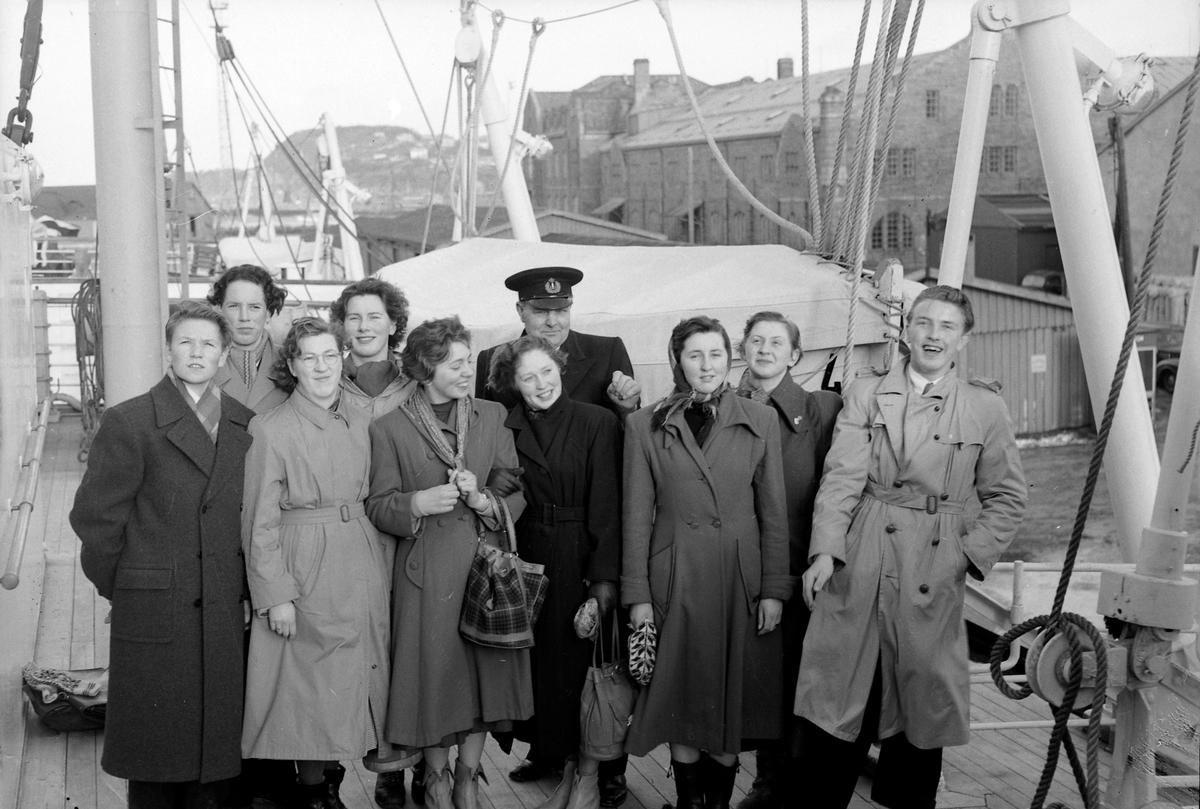 Elever fra Gauldal folkehøyskole på tur til Trondheim