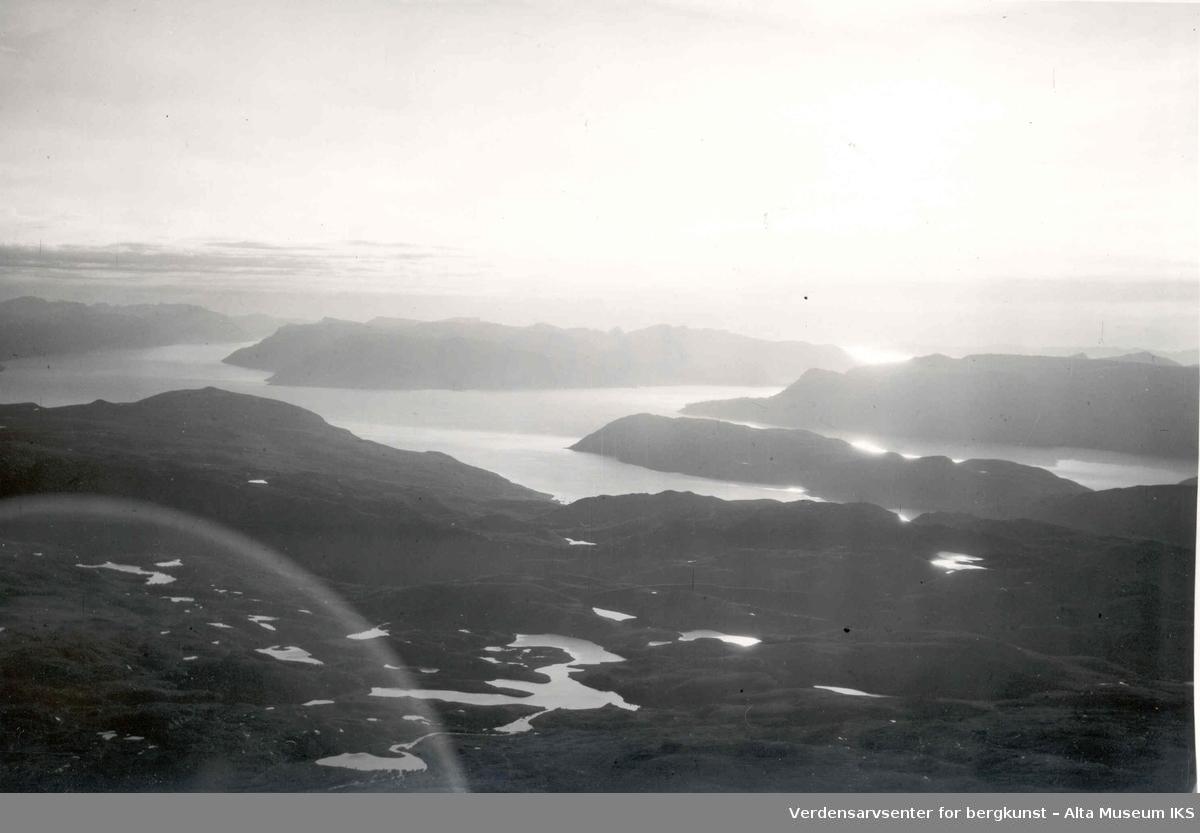 Korsfjorden, Stjernøya, Rognsund, Seiland, Stjernsund