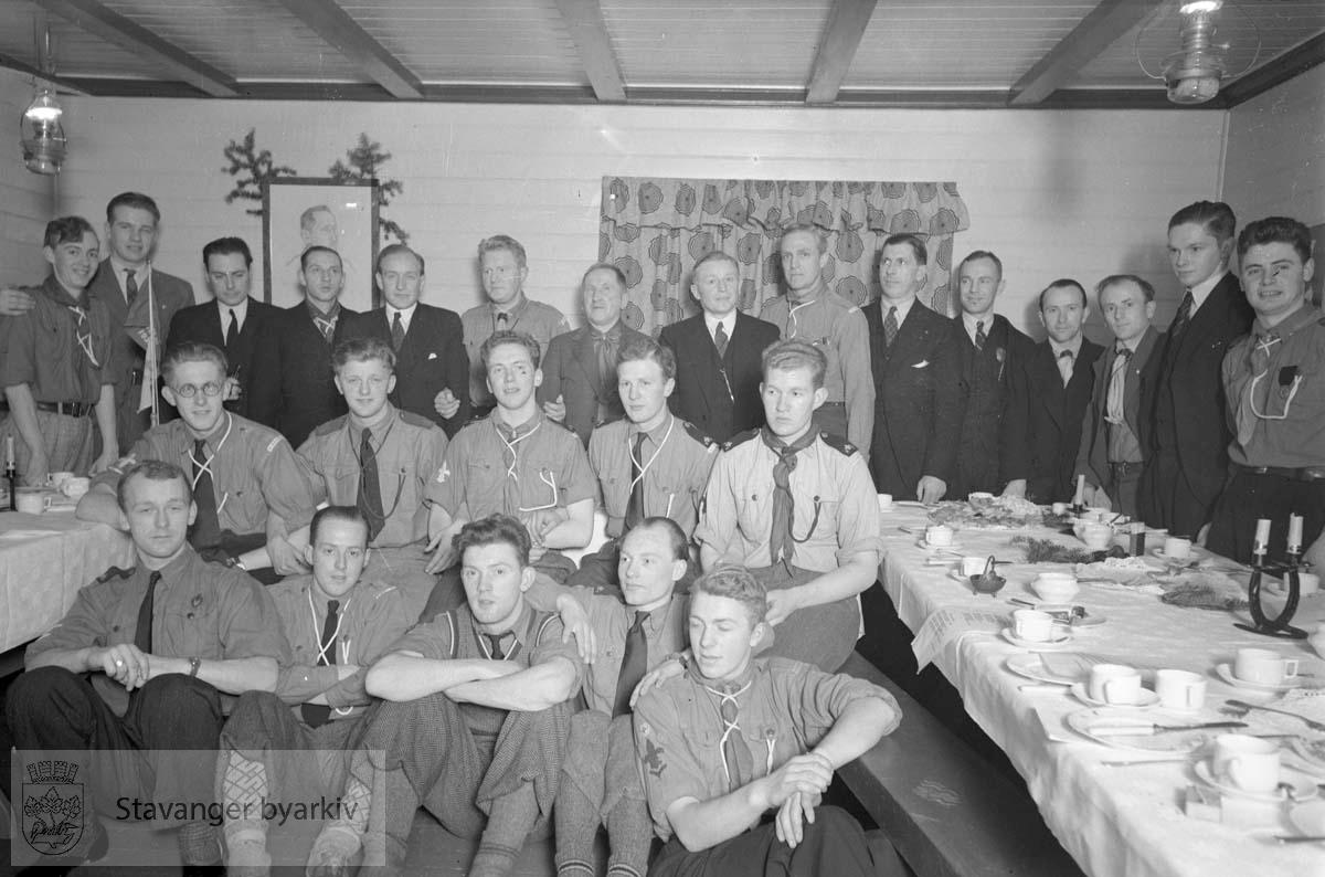 Speiderfest, februar 1939.