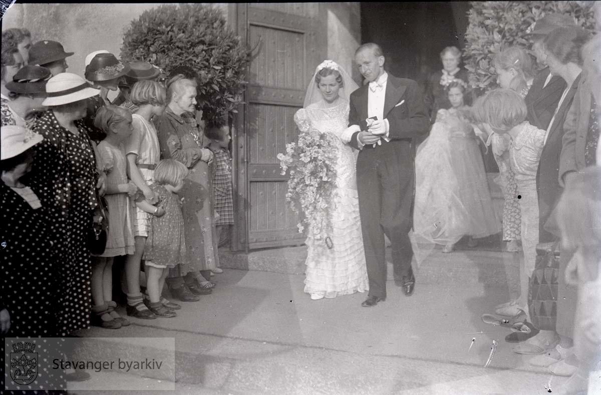 Idsøe og Powell sitt bryllup