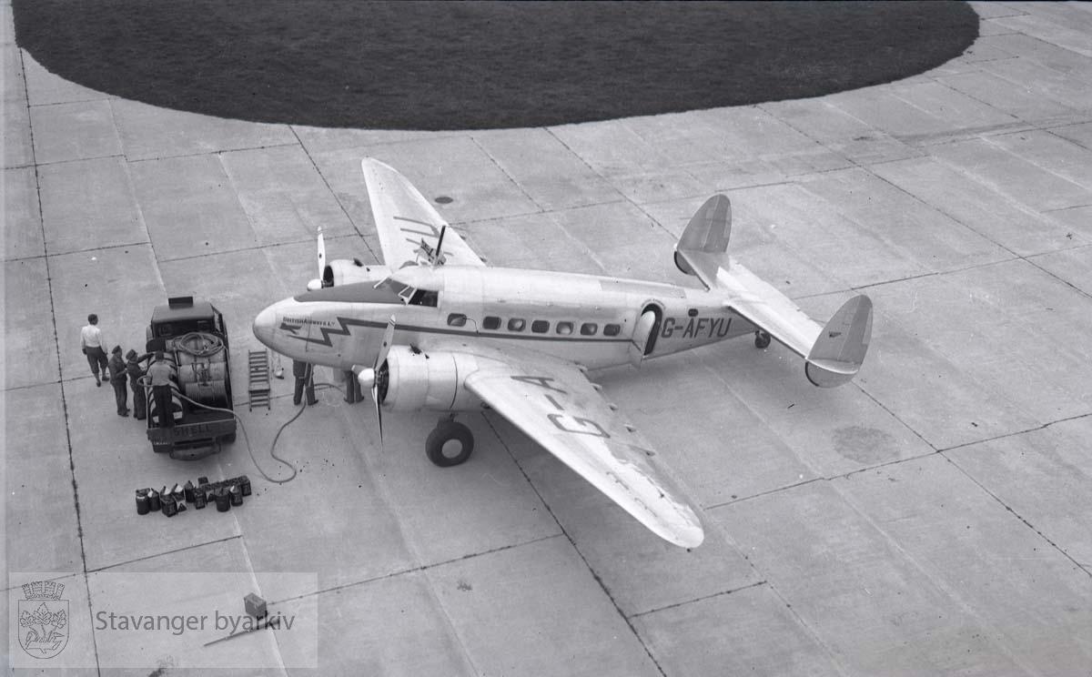 Britiske fly til Sola i 1939