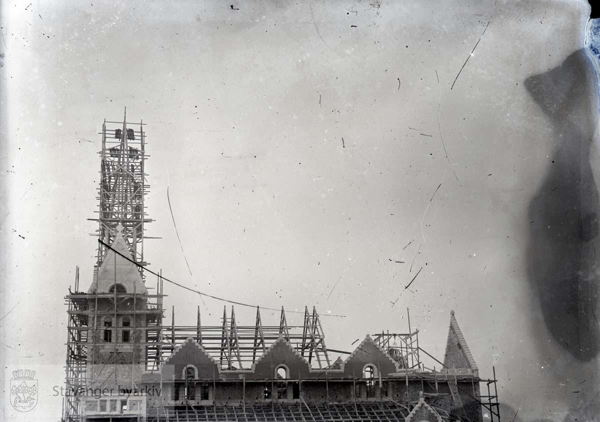 Johannes kirke under oppføring
