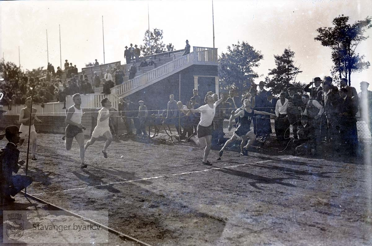 Sprintere / løpere over målstreken