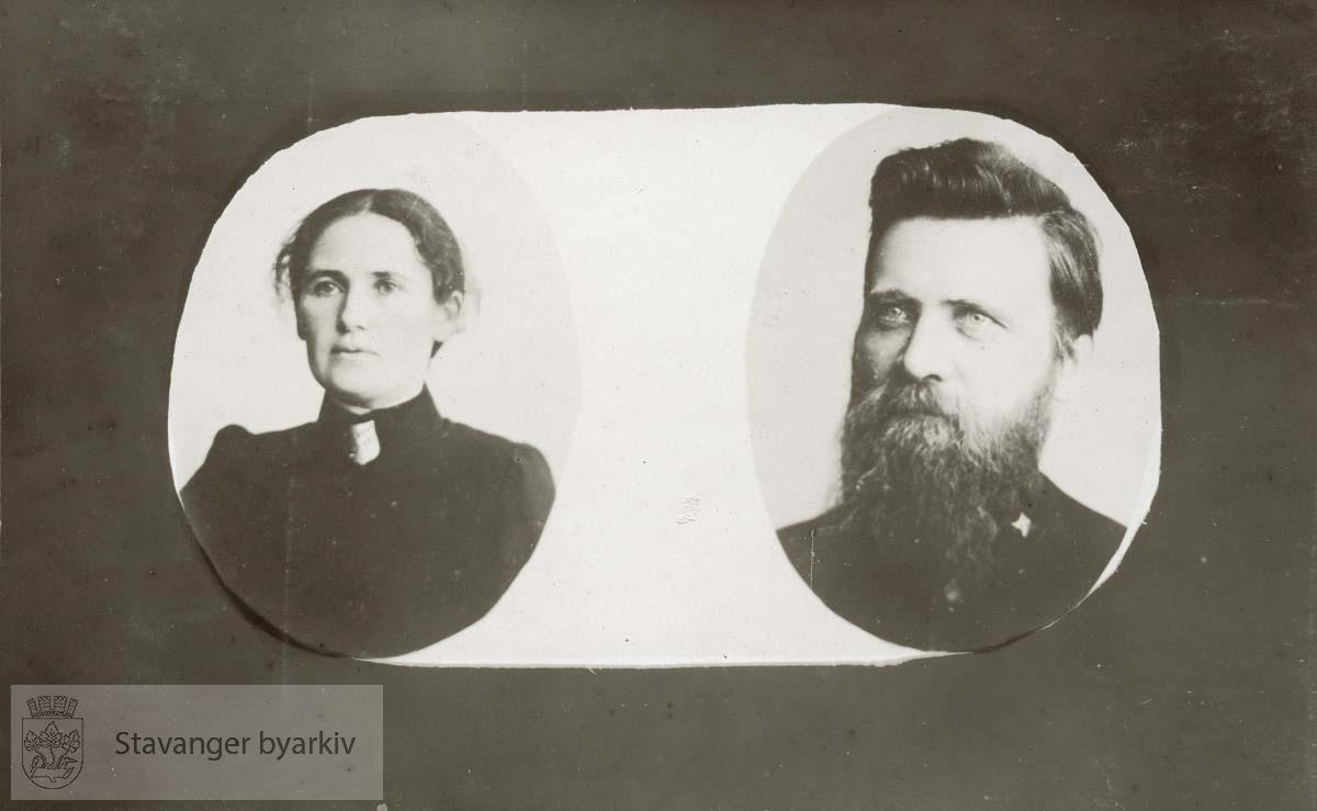 Tønnes Sandstøl og frue