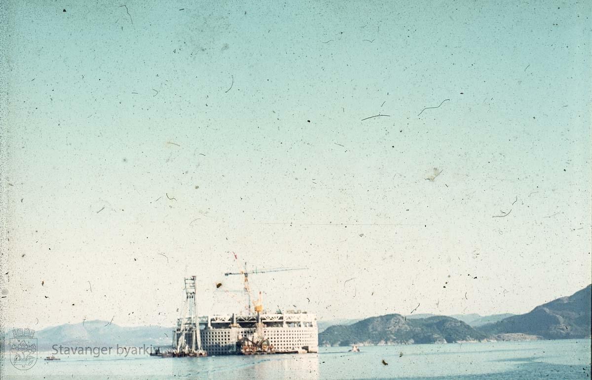 Ekofisktanken i Gandsfjorden.