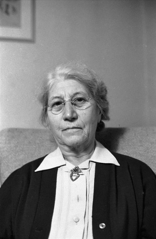 Nanna Broch, fotografert i 1959 (Foto/Photo)