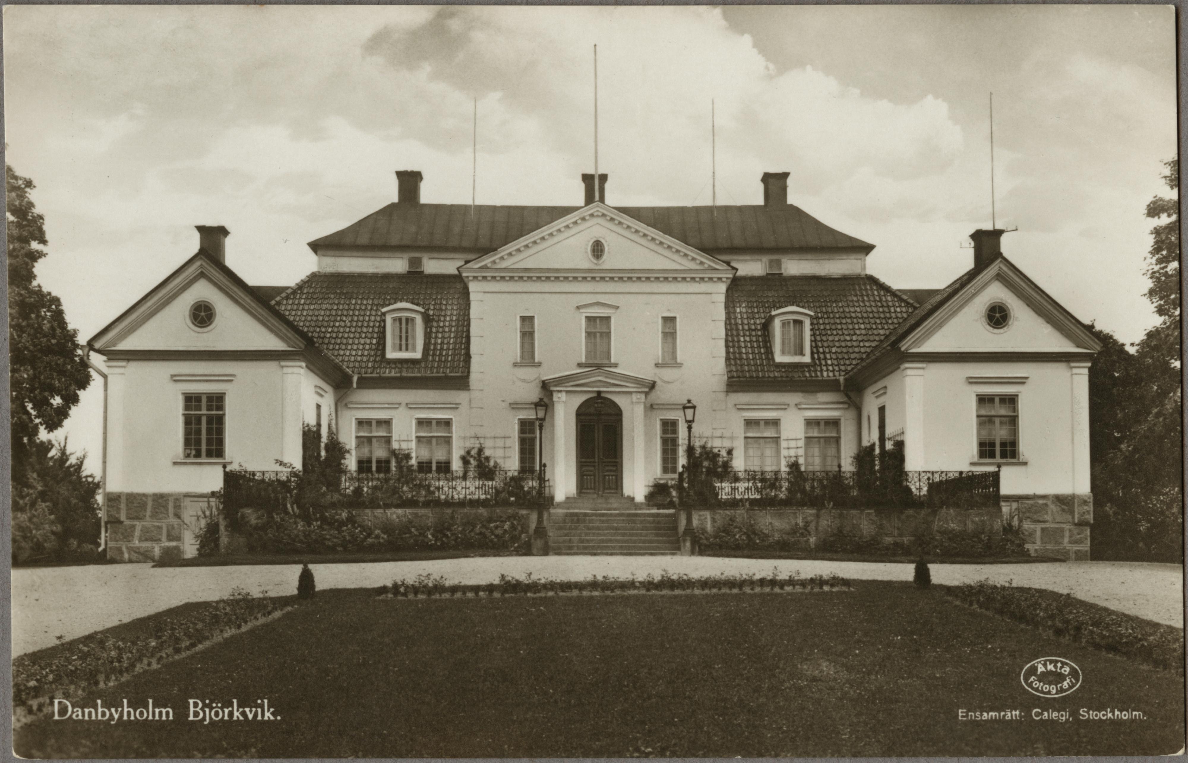 Marieberg herrgrd norr om Bjrkvik. - Jrnvgsmuseet