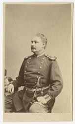 Porträtt av Knut Otto Upmark, kapten vid Upplands regemente