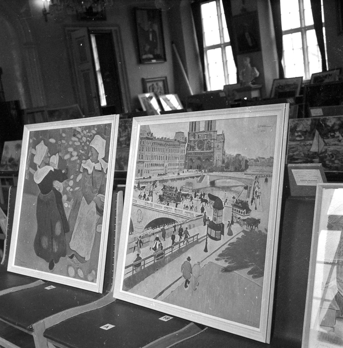 Katedralskolen kjøper inn reproduksjoner av kjente kunstnere