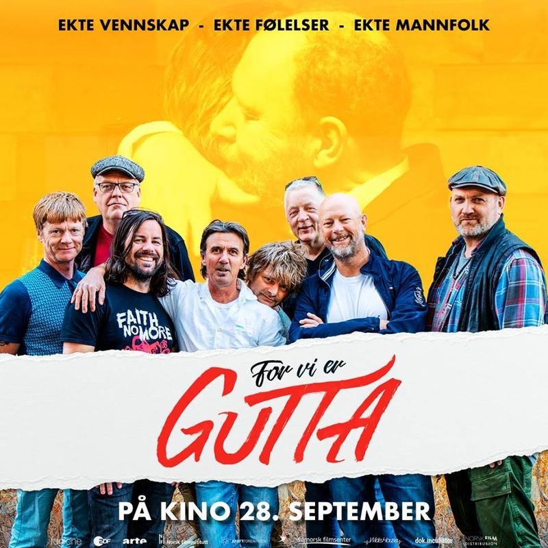 """Plakat for filmen """"For vi er gutta"""" (Foto/Photo)"""