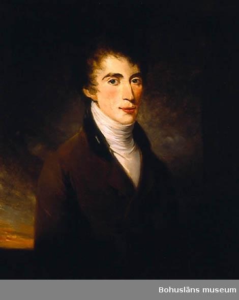 Romantiskt porträtt av ung man