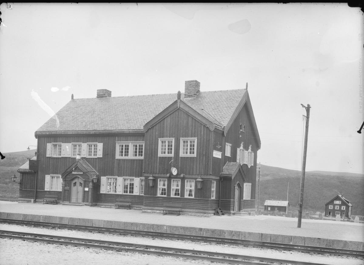 Dovrefjell, Hjerkin stasjon