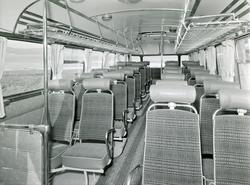 Buss levert til Olav A. Hokstad, Tylldalen, i mai 1959. Volv