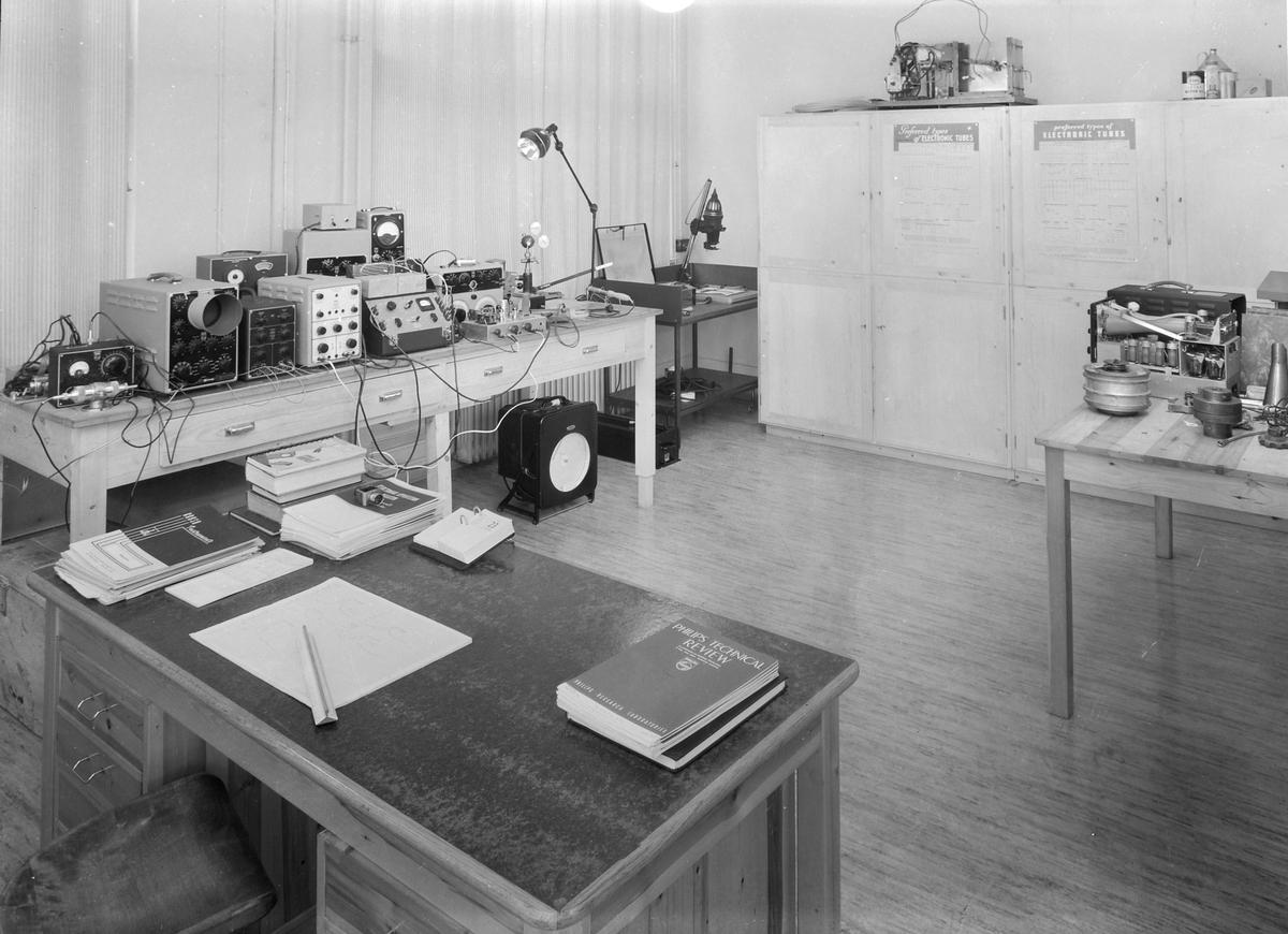 Laboratorium for forbrenningsmotorer, interiør