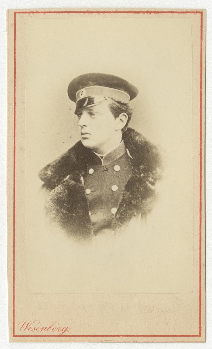 Porträtt av storfuste Vladimir Alexandrovitj av Ryssland.  Se även bild AMA.0002241.