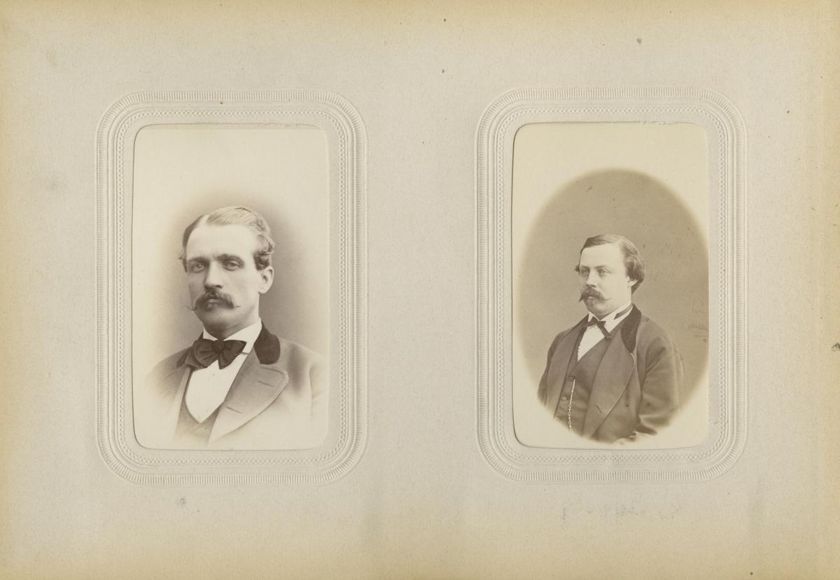 Porträtt av okänd man, Lutterman.