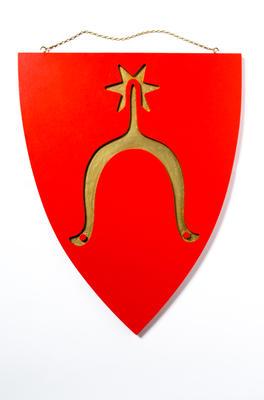 Gullsporen blir Nye Moss kommunevåpen. Foto/Photo